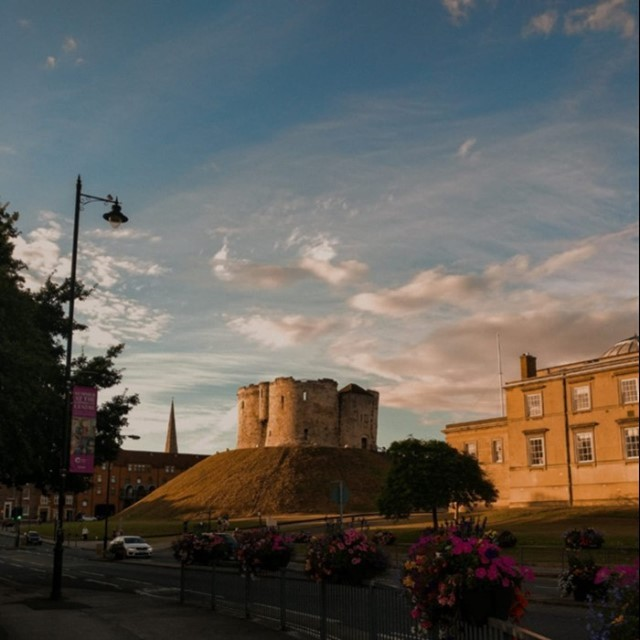 York Clifford's Tower - York